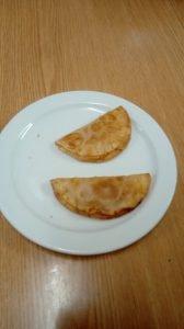 Empanadillas realizadas por los alumnos